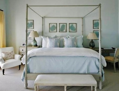 Awe inspiring canopy beds house design and architecture - Canopy bed without frame ...