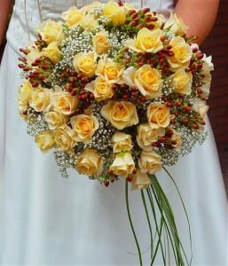 decoration idee bouquet mariee