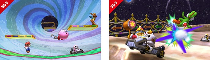 Rainbow Road stage from Mario Kart 7 for Smash Bros 3DS Exclusively