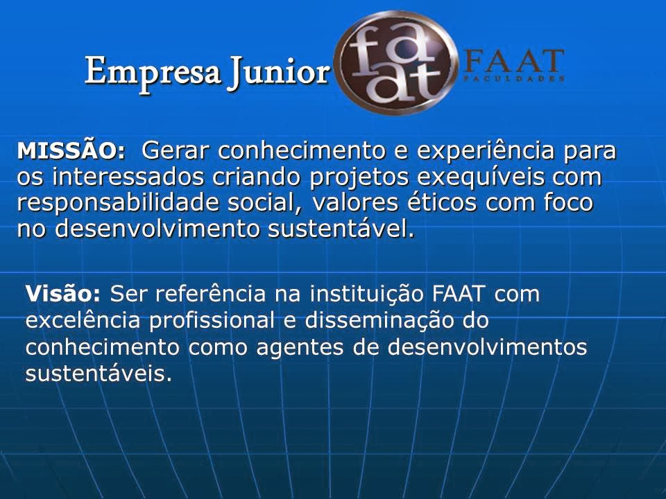 Empresa Júnior Faat.