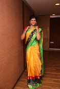 Sangeetha Kamath dazzling saree photos-thumbnail-16