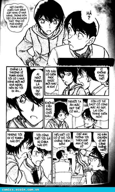 Detective Conan - Thám Tử Lừng Danh Conan chap 513 page 10 - IZTruyenTranh.com