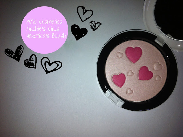 MAC Cosmetics Archie&#39;s Girls Collection 2013 Veronica Betty Veronica&#39;s blush 