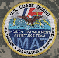U.S. Coast Guard Incident Management Assistance Team CG-IMAT Patch #CG-IMAT