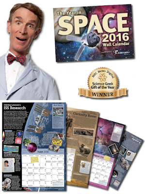 2016 Year In Space Bill Nye Calendar