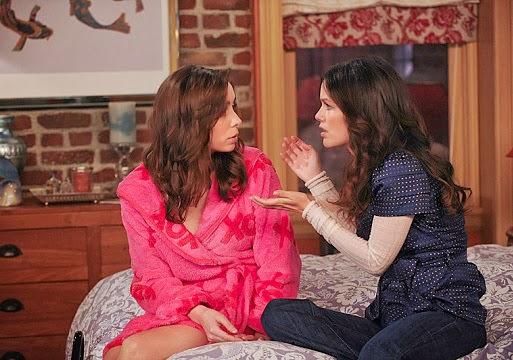 Cristin Milioti y Rachel Bilson de Como conoci a vuestra madre en el episodio 200