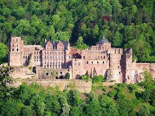 Tempat Wisata Di Jerman - Heidelberg Castle (Heidelberger Schloss)