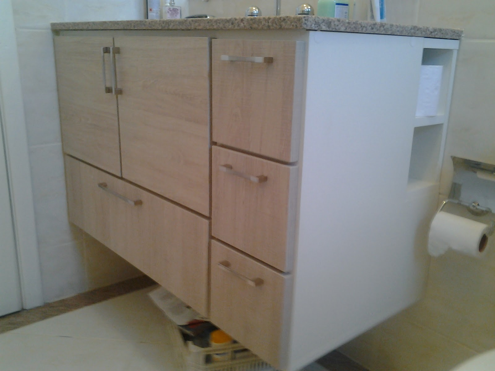 Armário de banheiro  MARCENARIA SCHOLZE -> Armario Banheiro Sander