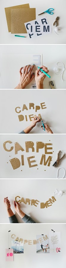 DIY: Carpe Diem my friends