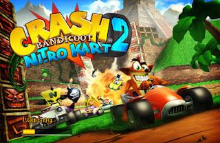 Crash Bandicoot Nitro Kart 2 iPhone App