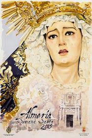 Cartel semana santa de Almeria 2015