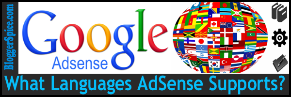 AdSense supported language