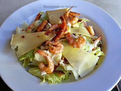 Pereira Restaurante: Salada Caesar de Camarão