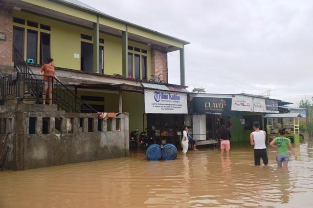 tanjung selor banjir 5 kabupaten bulungan kalimantan utara