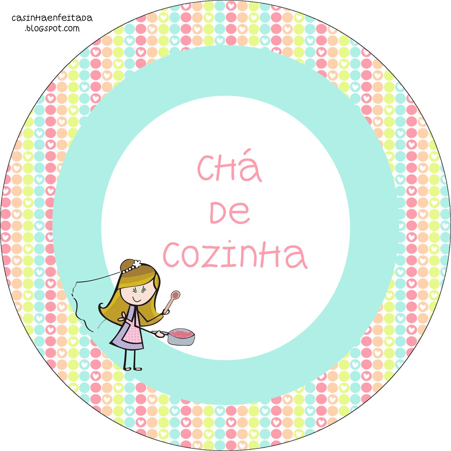 Convite De Cha De Cozinha Para Imprimir Auto Design Tech #C50624 1559 1559