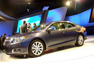 2013 Chevrolet Malibu ECO at the New York Auto Show