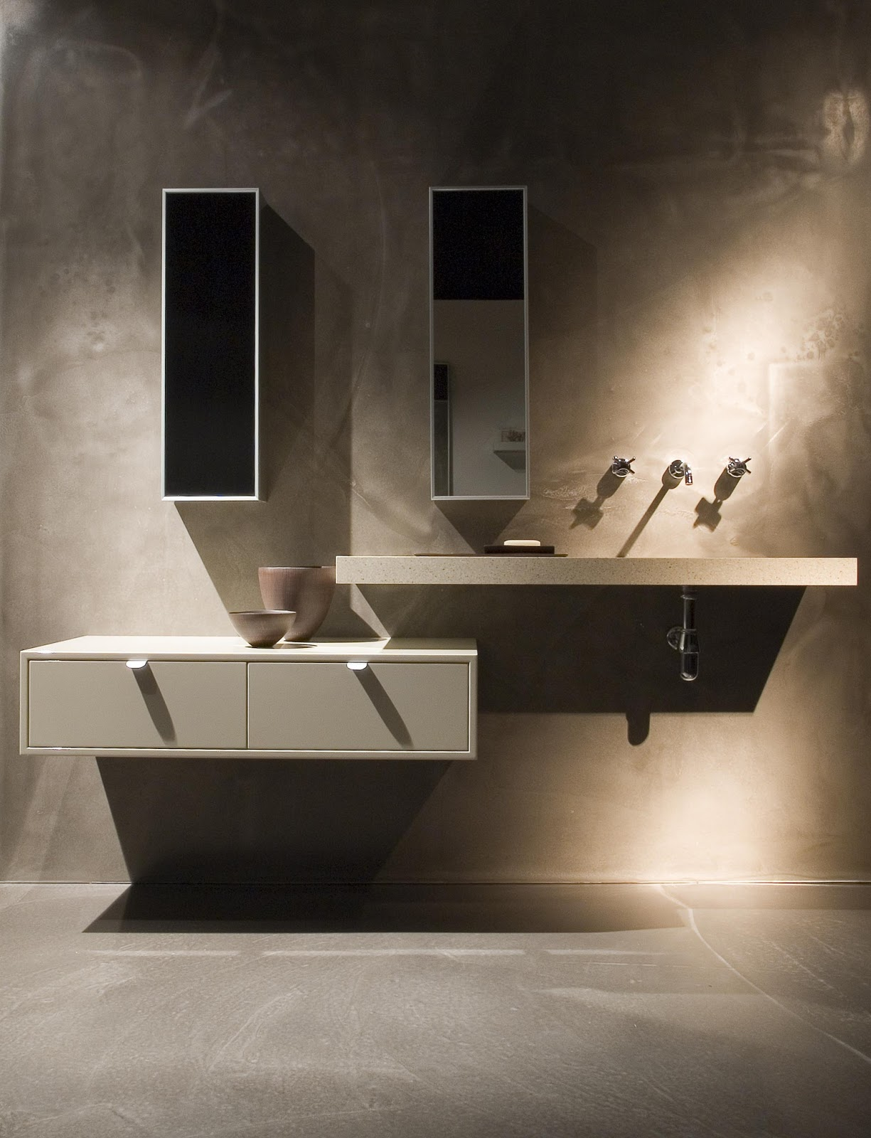 Minosa scoop ed washbasin by minosa luxury modern bathroom vanity Luxury bathroom vanity design