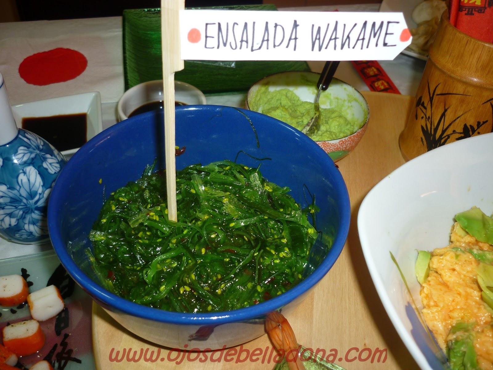 Ensalada Wakame, Japón