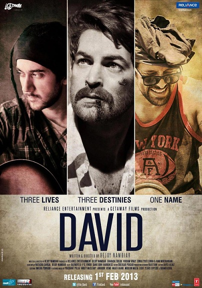 David (2013) Full Hindi Movie Download Free HD DVDRip HQ Torrent