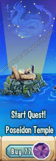 imagen del segundo segmento de la isla olympus de dragon city
