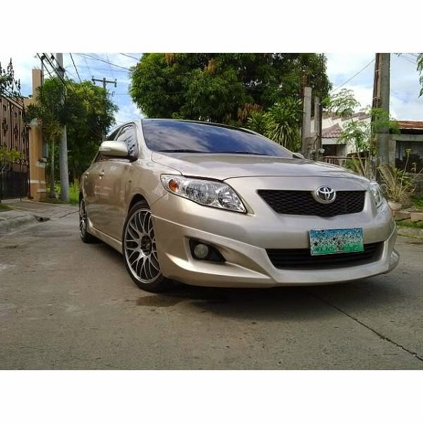 Body Kit Toyota Altis Aeroklas 2009-2011