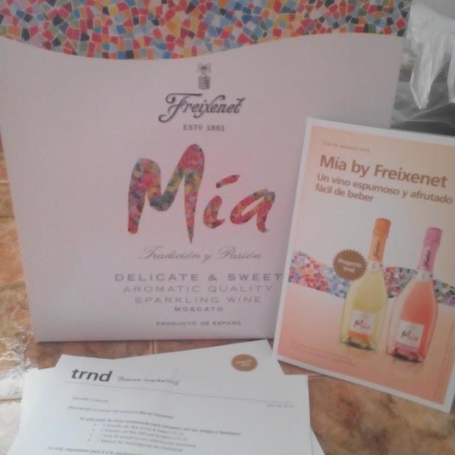 Pack de prueba del proyecto Mia de Freixenet