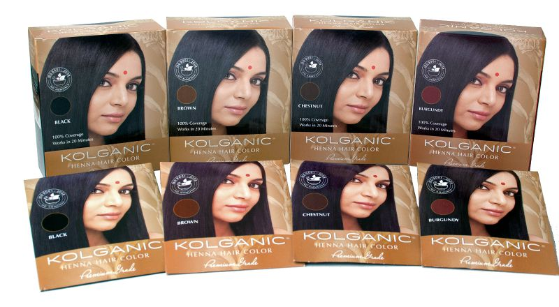 Kolganic Henna Hair Color Offers All Natural Coverage Rochelle Rivera