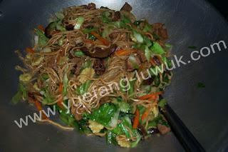 spaghetti ala chinese