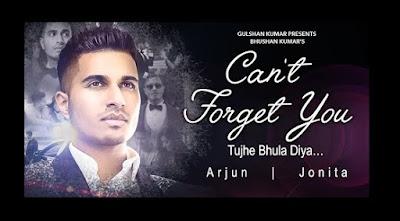 Can't Forget You Lyrics - Arjun : Tujhe Bhula Diya
