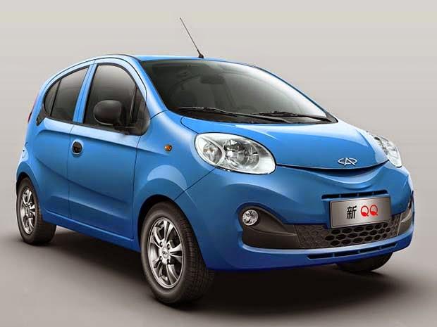Carros da China no Brasil para 2014 e 2015