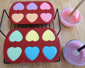 how to make conversation heart cheesecakes