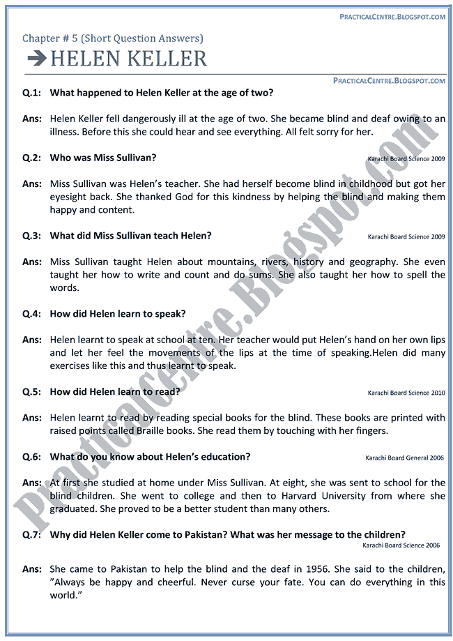 helen-keller-questions-answers-english-ix
