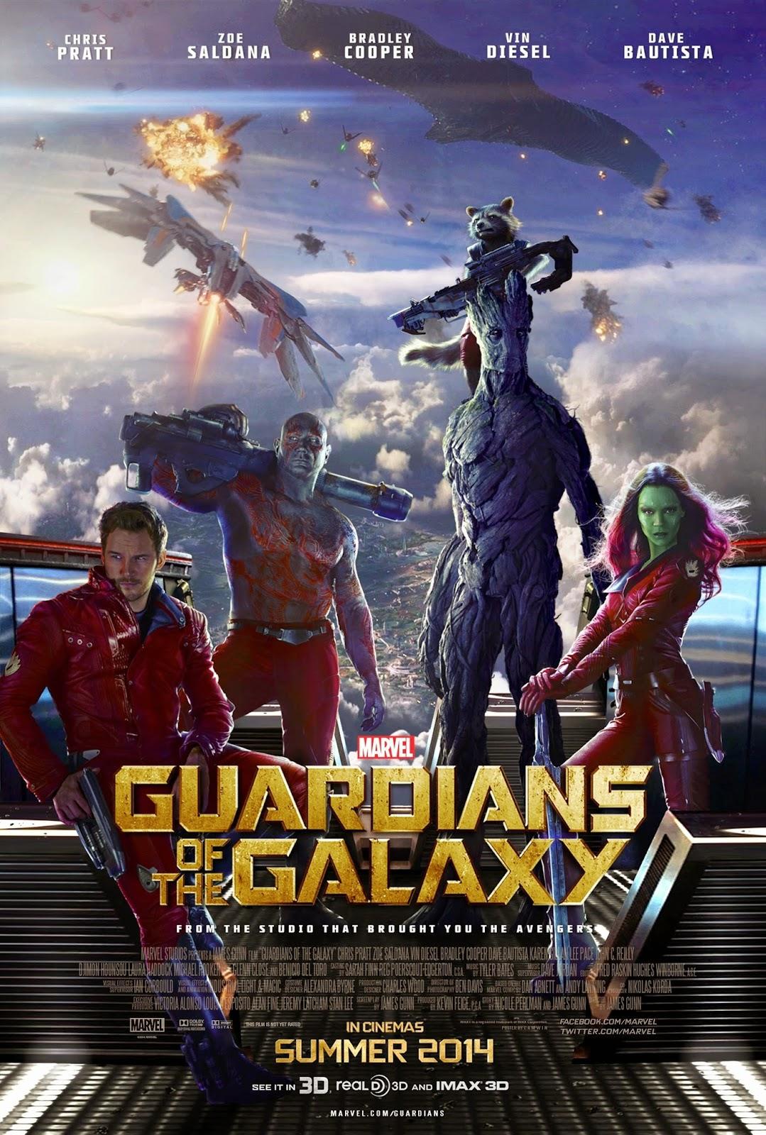 Poster หนัง Guardians of the Galaxy - รวมพันธุ์นักสู้พิทักษ์จักรวาล