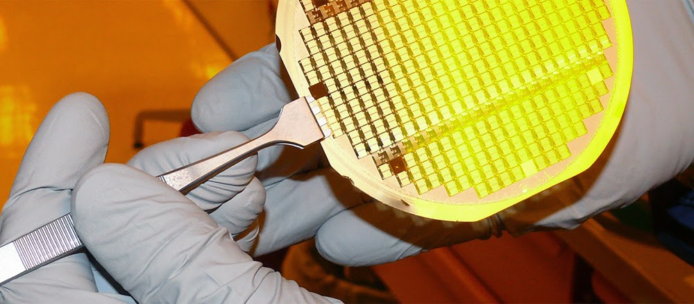 GE MEMS switch wafer