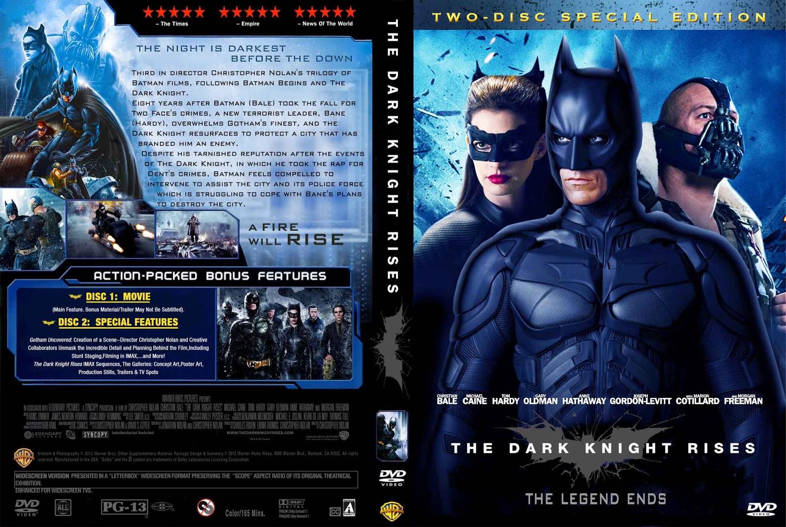 The Dark Knight Rises (2012) ~ Movie Cover