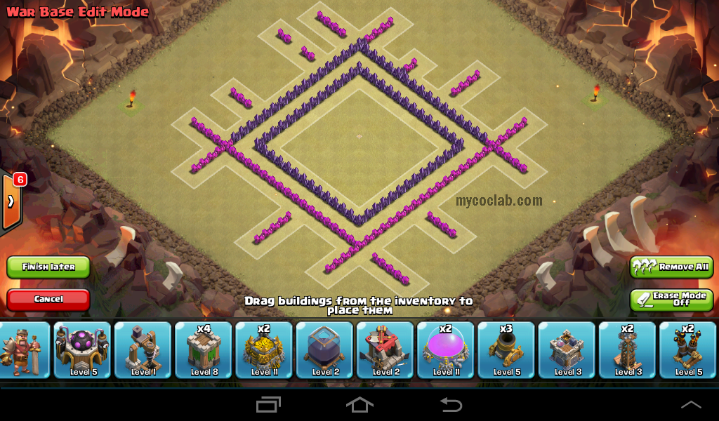 Th7 War Base Layout #0001