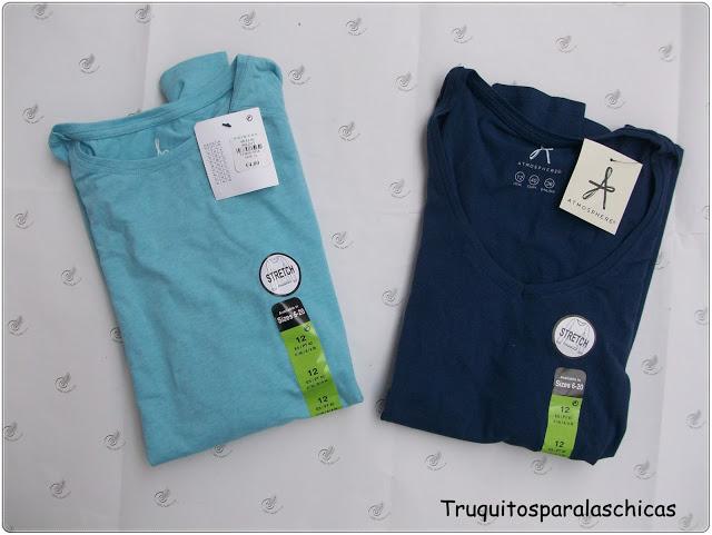 Camisetas basicas de Primark