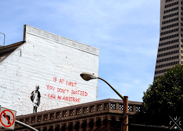 Banksy in San Francisco, North Beach