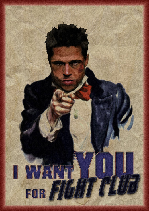 I Want You For Fight Club por Ludkubo