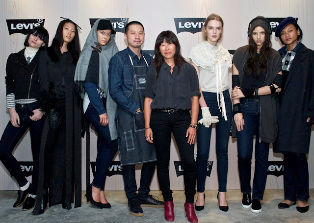 New Women Denim, Kaeda Matsumoto, Brand Style Director, Cho Wee Chee, stylist, Levi's Fall 2015 Collection