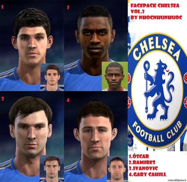 Facepack Chelsea PES 2013