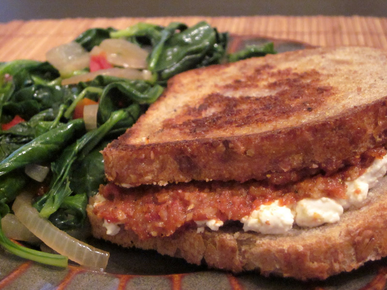 Kuk's Kitchen: Grilled Sun-dried Tomato and Goat Cheese