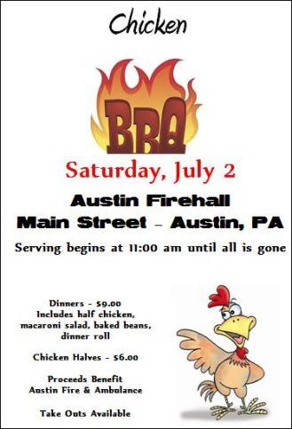 7-2 Chicken BBQ, Austin VFD