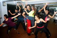 Aarti Chabria rehearses for New Year show