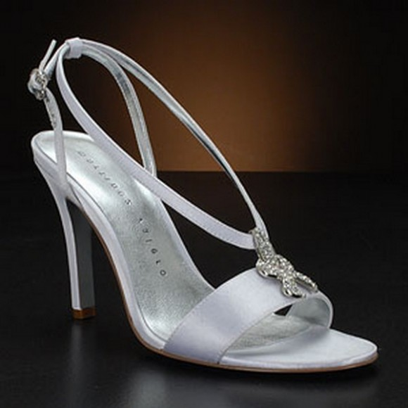 Silver Weding Shoes For Bride 010 - Silver Weding Shoes For Bride