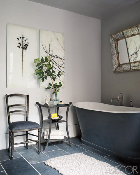 Jodie carter design bathrooms for Bathroom elle decor
