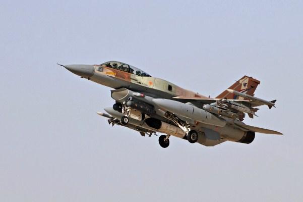Israel para ...F 16 Colombie