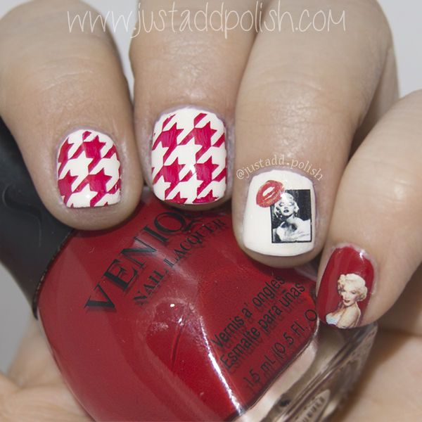 Just Add Polish: Marilyn Monroe Water decals - She\'s so lovely!
