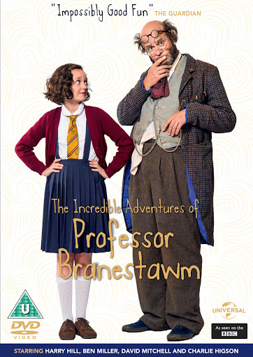 Christmas DVD, BBC Christmas show, The Incredible Adventures of Professor Branestawm