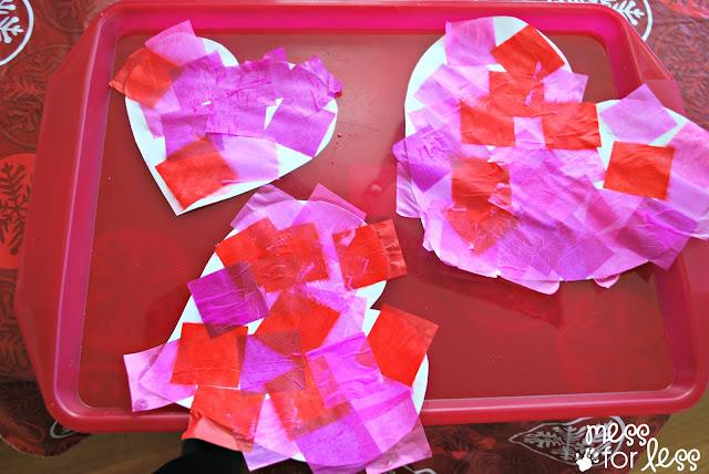 Decorating hearts